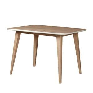 Jedálenský stôl zmasívneho mangového dreva Woodjam Play Light, 110cm