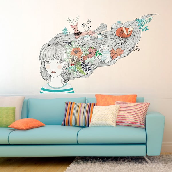 Samolepka My Dreams and Me, 110x155 cm