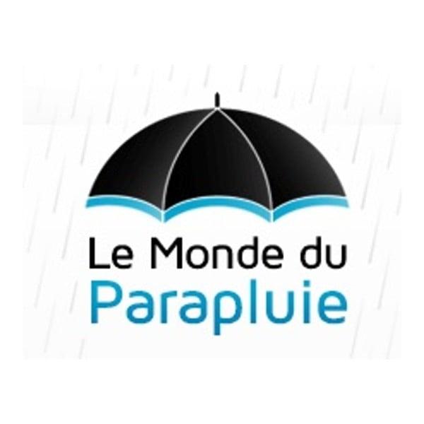 Čierny dáždnik pre dve osoby Du Parapluie
