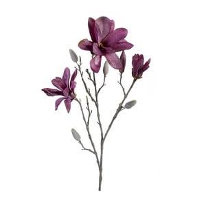 Umelý kvet Magnólia, fialová