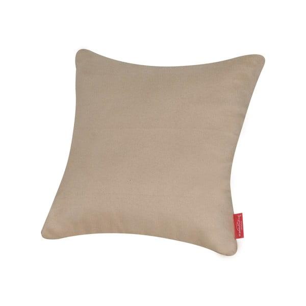 Vankúš z mikrovlákna Pillow 40x40 cm, maslový