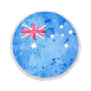 Guľatá plážová osuška Homemania Australia Flag, Ø150cm
