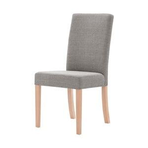 Sivohnedá stolička s hnedými nohami Ted Lapidus Maison Tonka