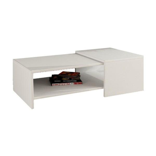 Konferenčný stolík Yalo, biely