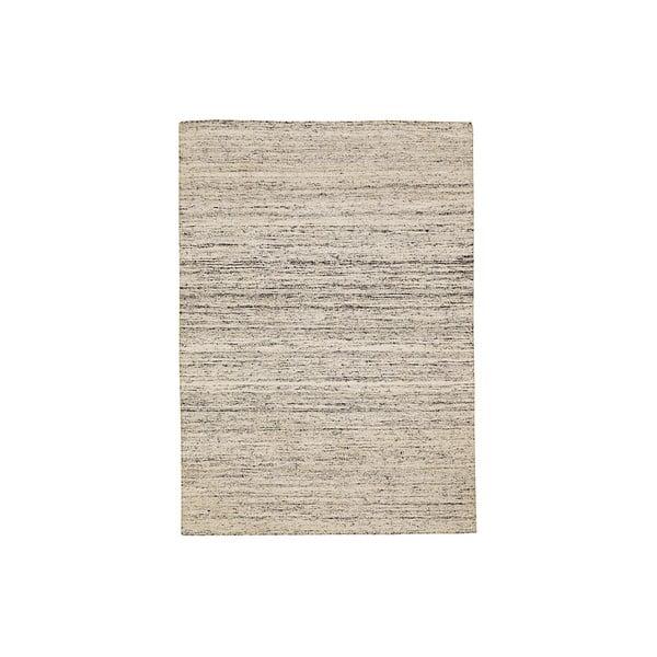 Ručne tkaný koberec Sari, 60x90 cm, smotanový