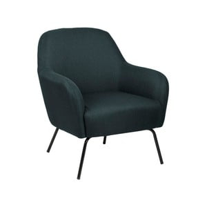 Tmavomodrá polstrovaná stolička Actona Melanie