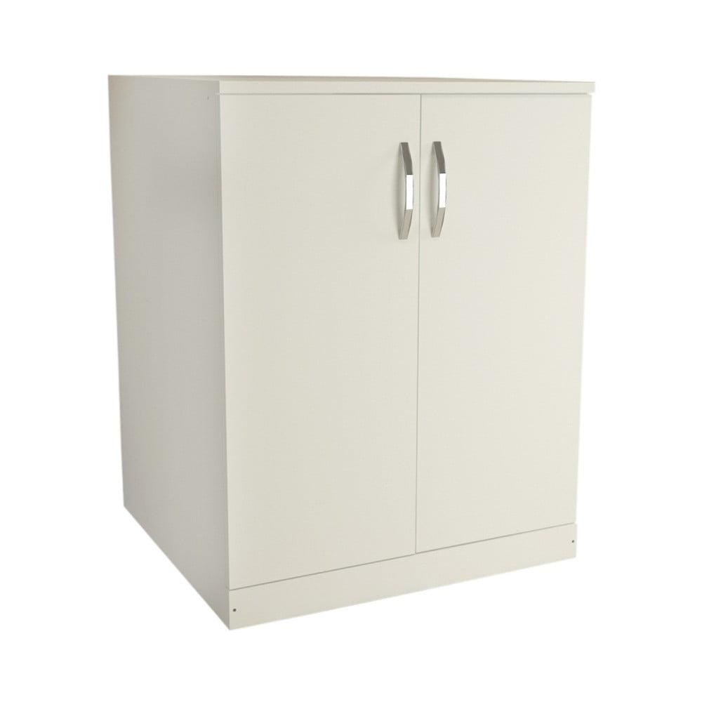 Biela skriňa Boxy, 70 × 90 cm
