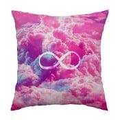 Vankúš Infinity Pink, 40x40 cm