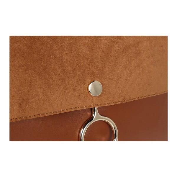 Hnedá kabelka z eko kože Beverly Hills Polo Club Sylvia