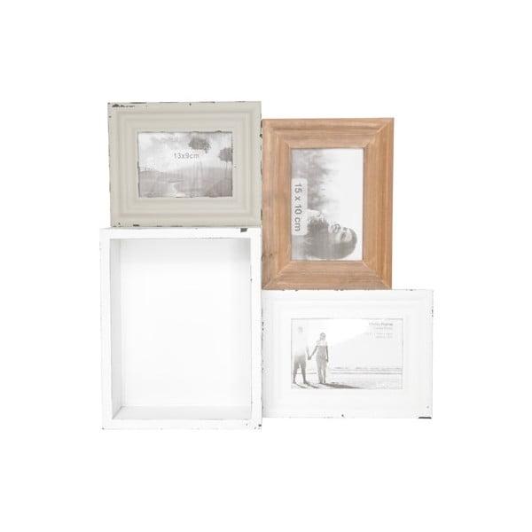Univerzálna tácka/polička/fotorámček Tray In Wood, 41x40 cm