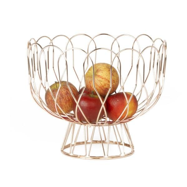 Misa na ovocie vo farbe medi Present Time Wired