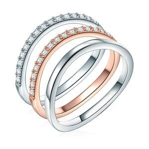 Trojitý prsteň Ines Cavalera Alicia, veľ. 58