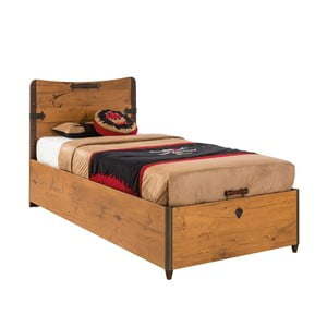 Jednolôžková posteľ Pirate Bed With Base, 90 × 190 cm