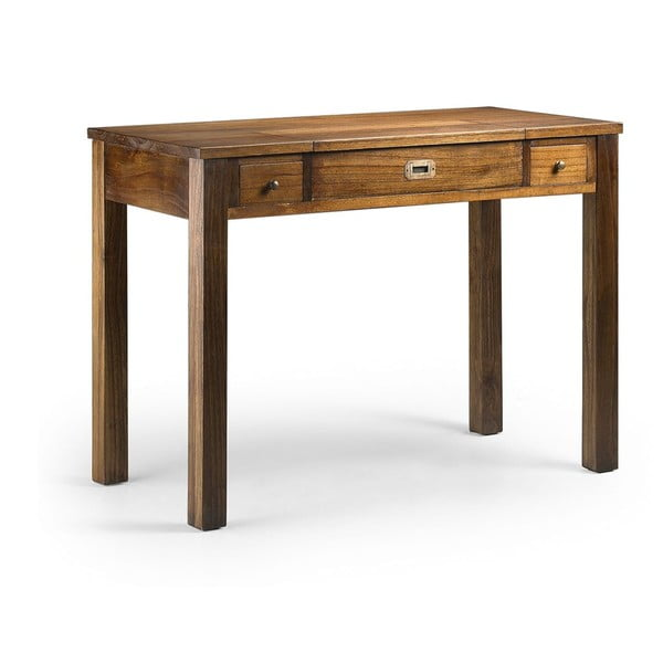 Pracovný stôl z dreva mindi Moycor Star Secretary