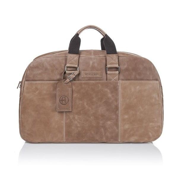 Pánska kožená taška Ferruccio Laconi 101 Havana