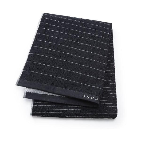 Osuška Esprit Grade 70x190 cm, čierna