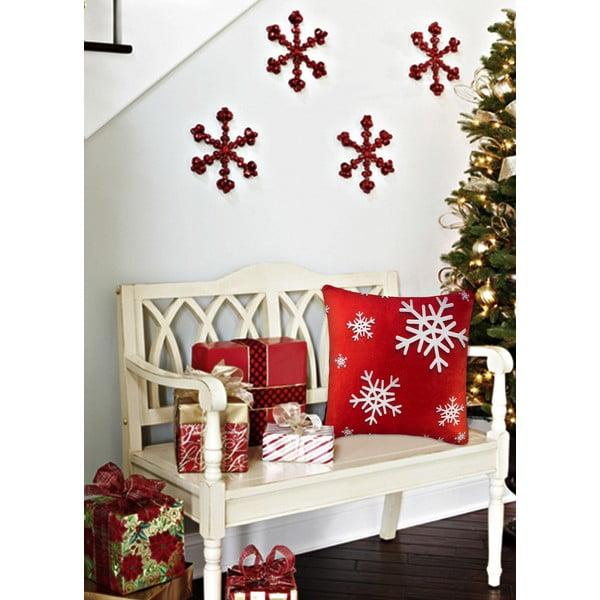 Vankúš s výplňou Christmas V35, 45 x 45 cm