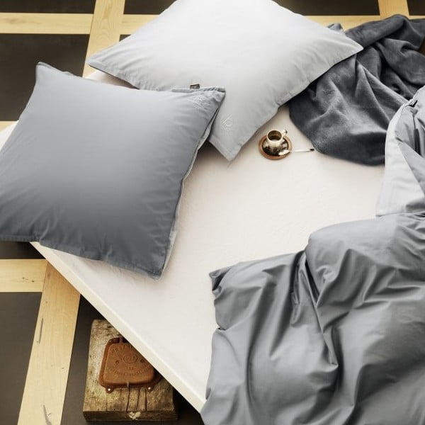 Obliečky Percale Grey, 140x200 cm