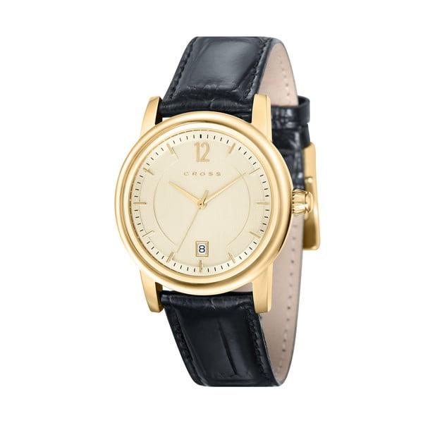 Pánské hodinky Cross New Chicago Champagne, 37 mm