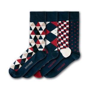 Sada 4 ponožiek Black&Parker London Holker Hall, veľkosť 37 – 43