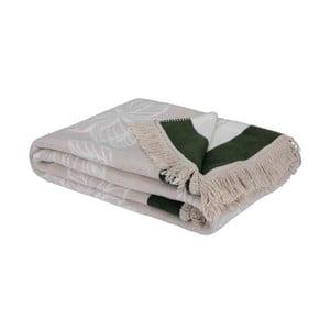 Pléd s prímesou bavlny Bella Maison Capri, 200 × 220 cm