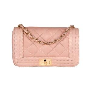 Kožená kabelka Andrea Cardone 2016 Pink
