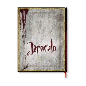 Zápisník s tvrdou väzbou Paperblanks Dracula, 18 x 23 cm