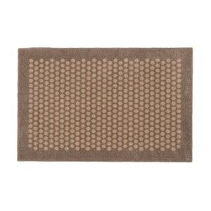 Hnedo-béžová rohožka Tica Copenhagen Dot, 60 x 90 cm