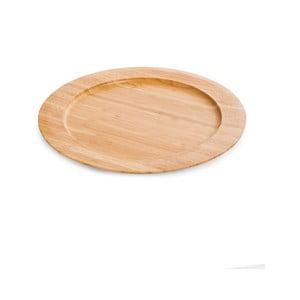 Bambusový tanier Bambum Gastro, ø 28 cm