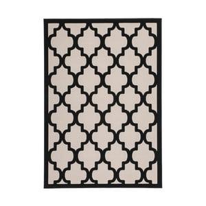 Koberec Maroc 387 Black Ivory, 80x150 cm