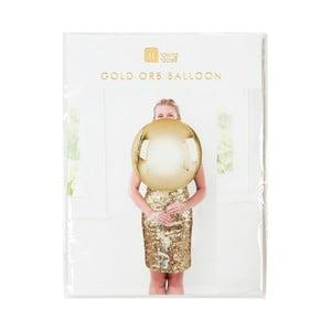 Balón v zlatej farbe Talking Tables Orb, ⌀40 cm