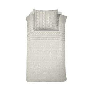 Svetlokrémové bavlnené posteľné obliečky Cinderella Jumper Cream White, 200 x 140 cm