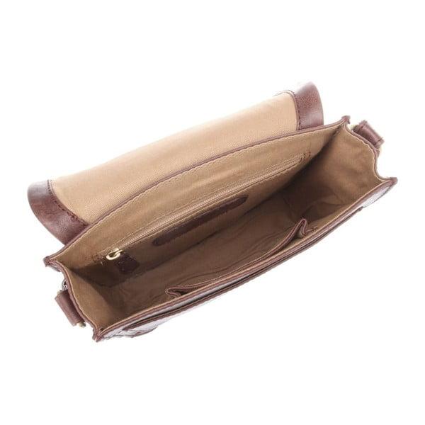 Kožená taška Lucinda Conker Brown