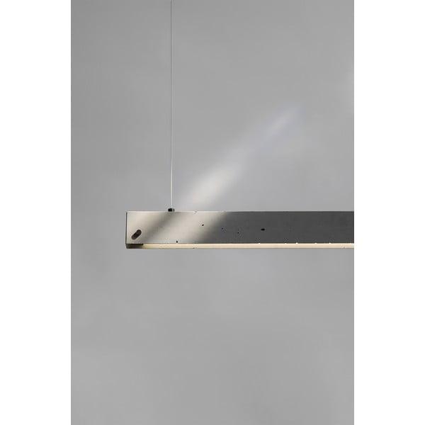 Závesné stropné svietidlo YI, betónové
