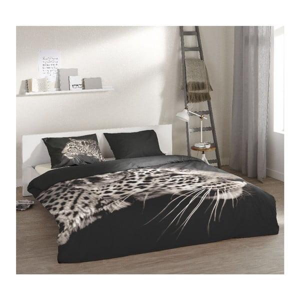 Obliečky Leopard Antracite, 200x200 cm
