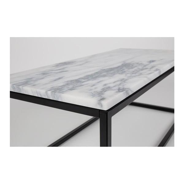 Odkladací stolík z mangového dřeva Zuiver Dendron, Ø 60 cm