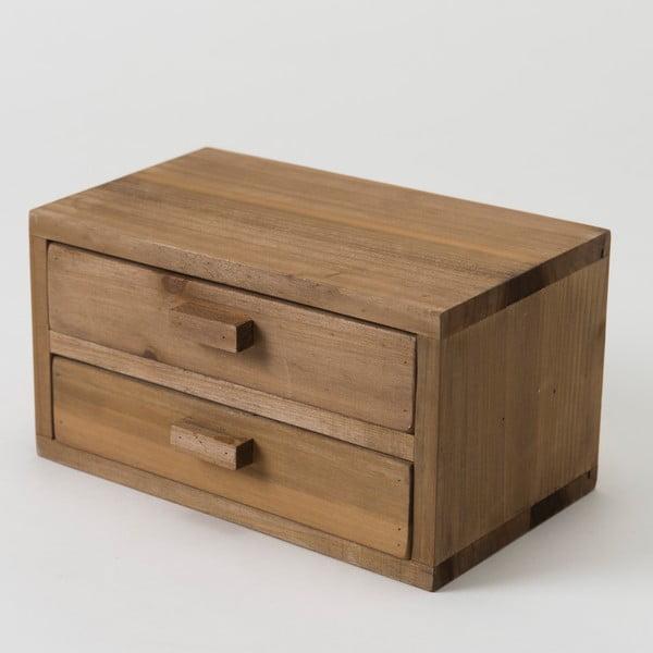 Drevený box Compactor Vintage Box, 20x13 cm