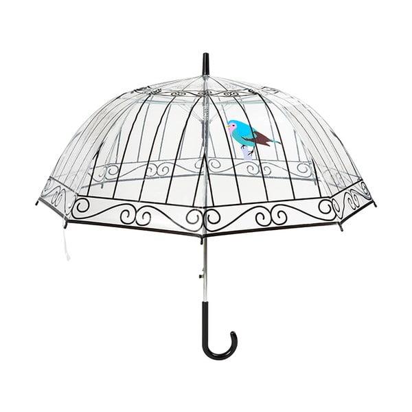 Transparentný dáždnik Cloche Cage