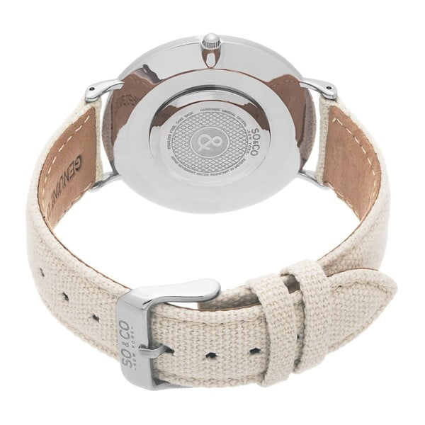 Pánske hodinky SoHo Club Silver/Beige