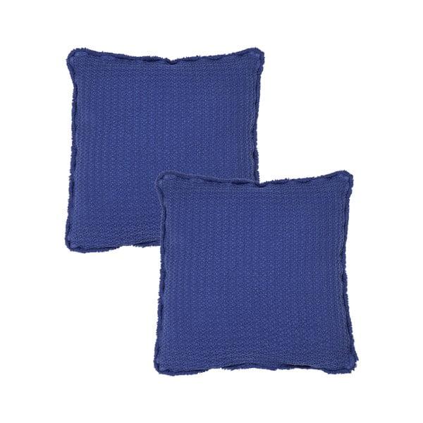 Sada 2 modrých obliečok na vankúš Casa Di Bassi