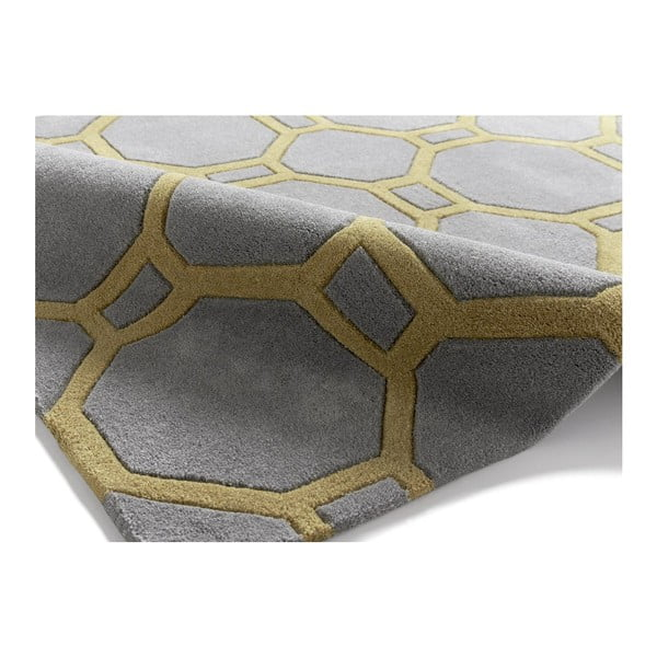 Koberec Hongkong Grey Yellow, 150x230 cm