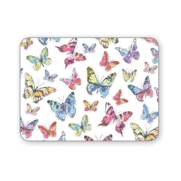 Sada 4 prestieraní Cooksmart Butterfly