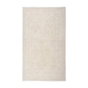 Krémový bavlnený koberec Floorist Omanli, 80x300cm