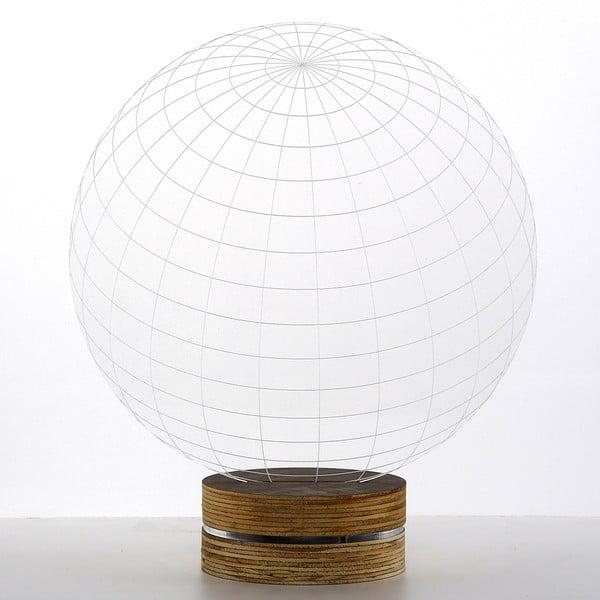 3D stolová lampa Globe