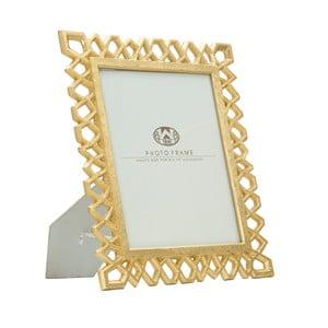 Stolový fotorámik v zlatej farbe Mauro Ferretti Classic, 20 × 25 cm