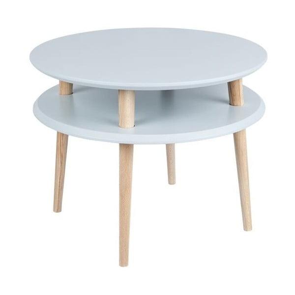 Konferenčný stolík UFO 45x57 cm, sivý