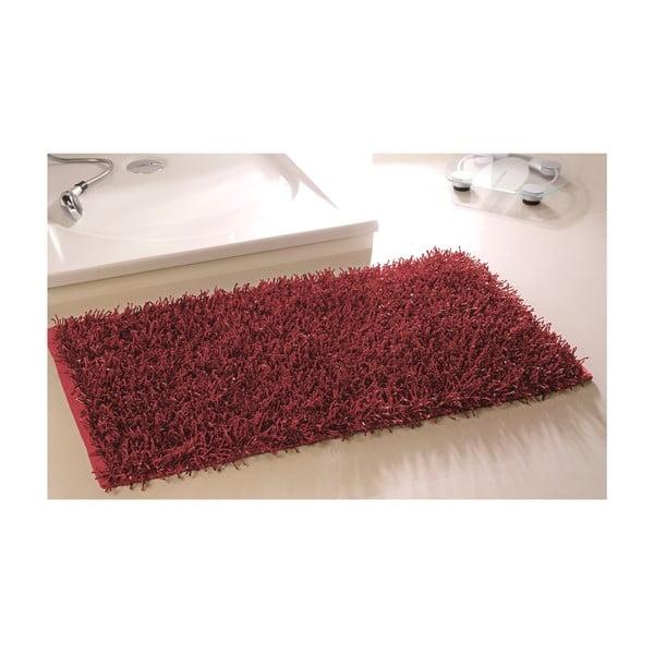 Koupelnová předložka Metallic Look Red, 50x70 cm