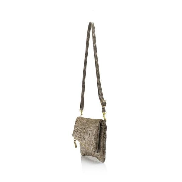 Kožená kabelka Markese 6948 Fango