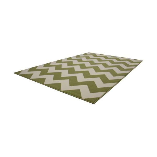 Zeleno-biely koberec Kayoom Maroc 2085 Grun, 120x170cm
