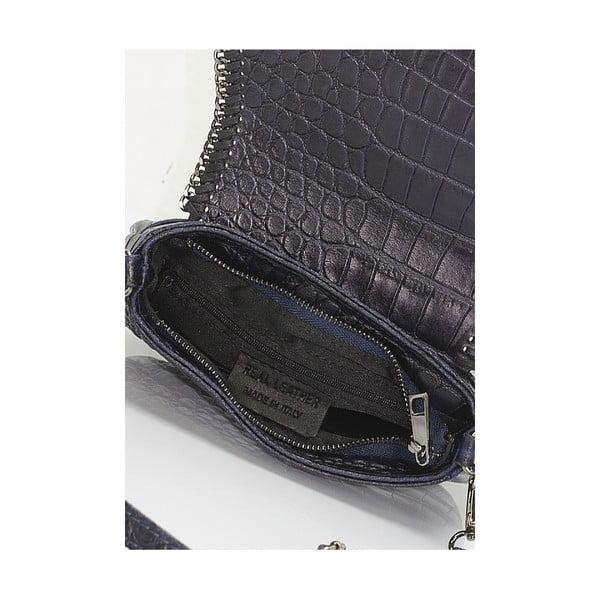 Kožená kabelka Giorgio Costa 15008 Blue